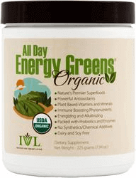 All Day Energy Greens Organic Alkaizing Energy Drink